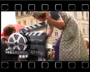 Video Putzfrau Stelzen